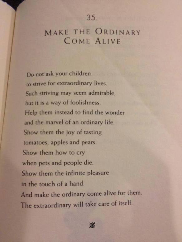 """wise words from William Martin - (from """"The Parents Tao Te Ching"""")"""